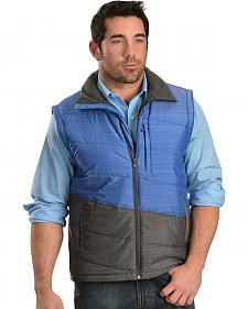 Cinch Men's Lightweight Polyfill Blue Vest