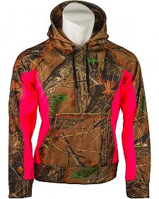 Trail Crest Pink Camo Softshell Hoodie