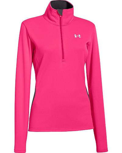 Under Armour UA ColdGear Evo Performance Pink 1/4 Zip Pullover Western & Country 1247116-653