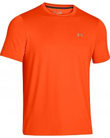 Under Armour Short Sleeve Basic Logo Crew Neck Shirt