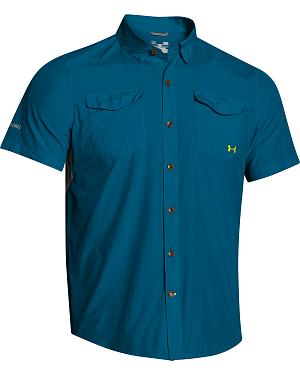 Under Armour Iso-Chill Flats Guide Short Sleeve Shirt