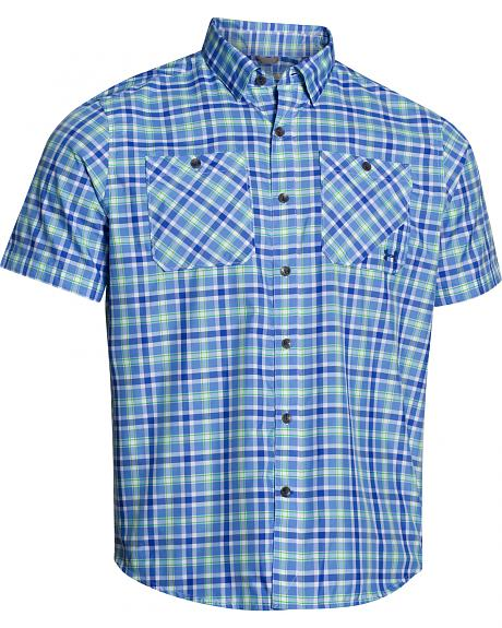 Under Armour Men's Chesapeake Patterned Short Sleeve Shirt