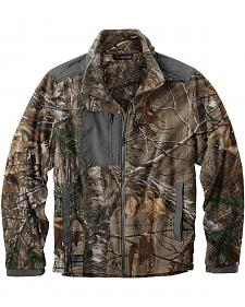 Dri Duck Men's Quest Microfleece Realtree Camo Jacket