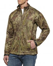 Ariat Men's Kryptek Olive Mandrake Softshell Jacket