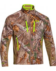 Under Armour Men's Realtree Scent Control Softershell Jacket