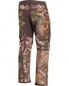 Under Armour Men's Realtree Storm Scent Control Softershell Pants