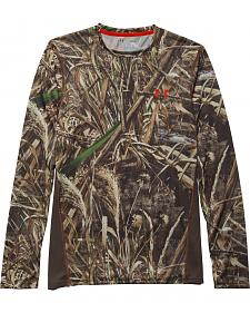 Under Armour Men's UA Scent Control Nutech Camo Long Sleeve T-Shirt