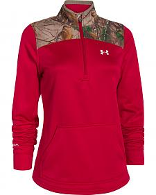 Under Armour Women's Caliber 1/2-Zip Pullover