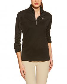 Ariat Women's Conquest Tek Fleece English Riding Quarter-Zip Jacket