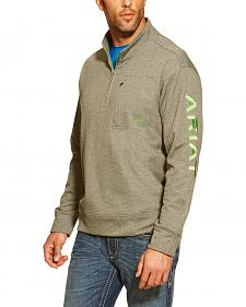 Ariat Men's Team Logo 1/4-Zip Pullover