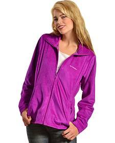 Columbia Women's Hotdots II Full Zip Fleece Jacket