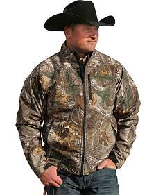 Cinch Men's RealTree Xtra Camo Bonded Jacket