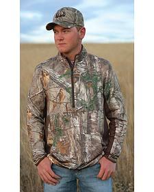 Cinch Camo Half-Zip Lightweight Tech Pullover Shirt