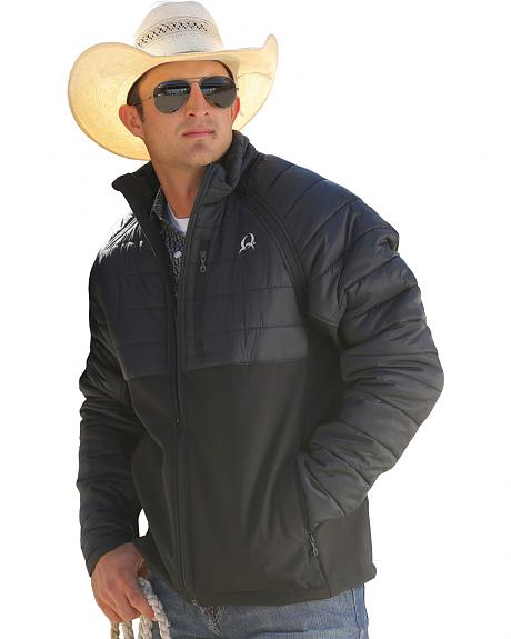 Cinch Black Jacket with Removeable Sleeves