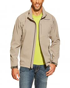 Ariat Grey and Black Vernon Softshell Jacket