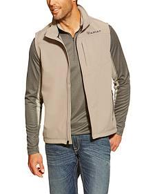 Ariat Men's Vernon Grey Softshell Vest