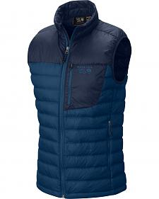 Mountain Hardwear Blue Dynotherm Down Vest