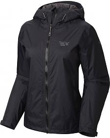 Mountain Hardwear Women's Black Finder Jacket