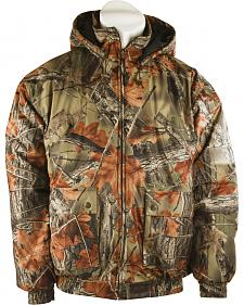 Trail Crest Men's Insulated Waterproof Camo Tanker Jacket