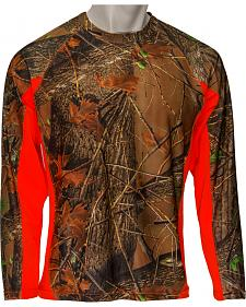 Trail Crest Impulse 4-Way Stretch Performance Long Sleeve Camo T-Shirt