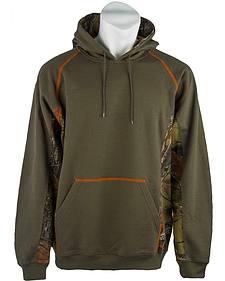 Trail Crest Men's Camo Hooded Sweatshirt