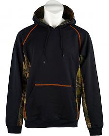 Trail Crest Men's Camo Hooded Sweatshirt