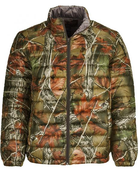 Trail Crest Men's Ultra Thurmic Silk Padded Camo Quilted Jacket