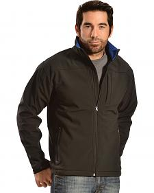 Red Ranch Men's Brown Softshell Western Jacket
