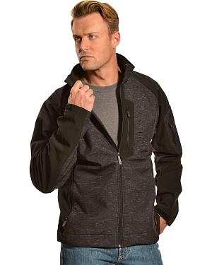 Cinch Black and Grey Logo Jacket