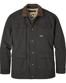 Mountain Khakis Black Ranch Shearling Jacket