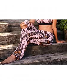 Wilderness Dreams Women's Pink Mossy Oak Break-Up Pants