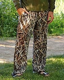 Wilderness Dreams Men's Mossy Oak ShadowGrass BLADES Camo Lounge Pants