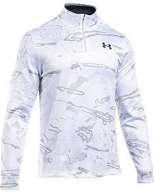 Under Armour Men's Franchise Camo 1/4 Zip Fleece Pullover
