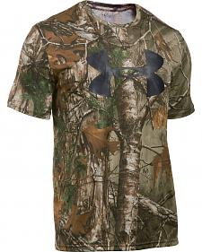 Under Armour Big Logo Camo Tech Shirt