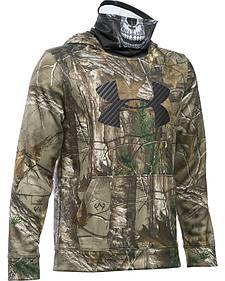 Under Armour Boys' Skull Mask Hooded Jacket