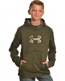 Under Armour Boys' Storm Icon Caliber Hoodie