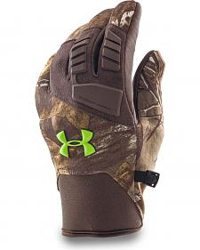 Under Armour Men's ColdGear Infrared Speed Freek Camo Gloves