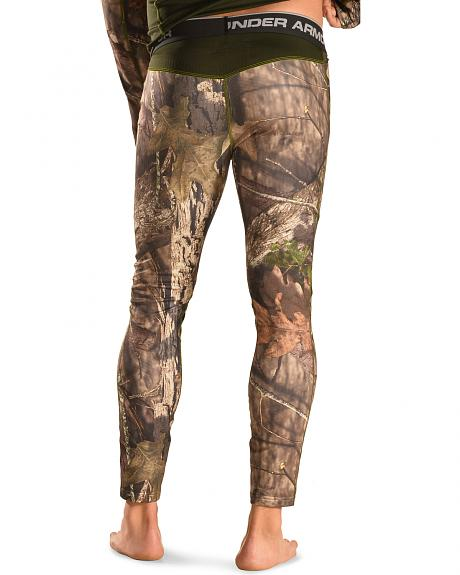Under Armour Men's ColdGear Infrared Scent Control Camo Leggings