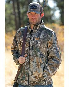 Cinch Men's Realtree Xtra Camo Midweight Bonded Fleece Jacket