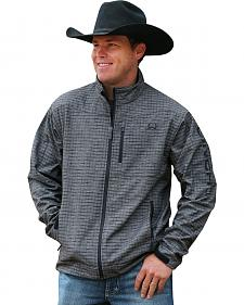 Cinch Men's Grey and Black Bonded Jacket