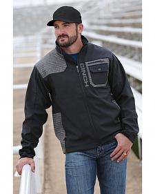 Cinch Men's Black and Grey Bonded Jacket