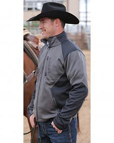 Cinch Men's Black Bonded Fleece Jacket