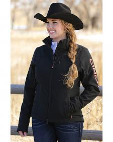 Cinch Women's Black Bonded Fleece Concealed Carry Jacket