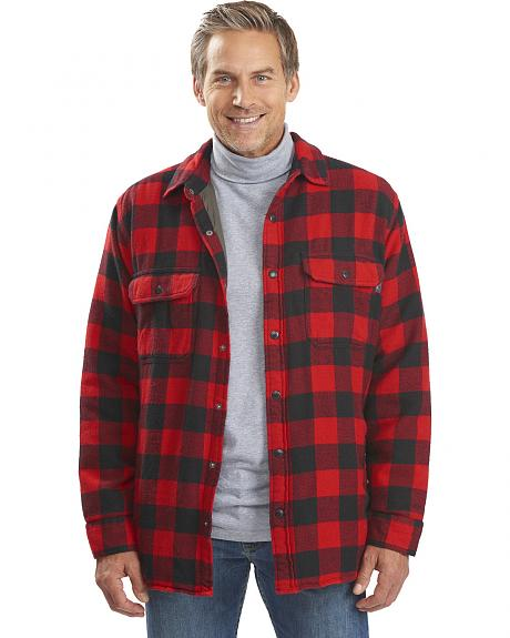 Woolrich Men's Oxbow Bend Lined Shirt Jacket