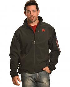Cinch Men's American Flag Logo Bonded Jacket