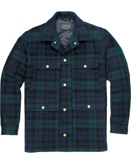 Pendleton Men's Black Watch Tartan Cruiser Jacket