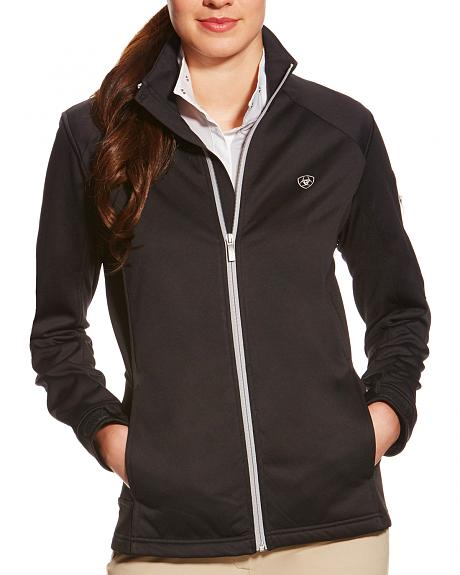 Ariat Women's Black Saga Full Zip Jacket