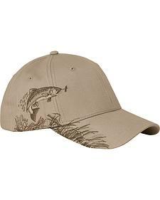 Dri Duck Men's Sand Brown Trout Cap
