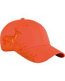 Dri Duck Men's Orange Running Buck Cap
