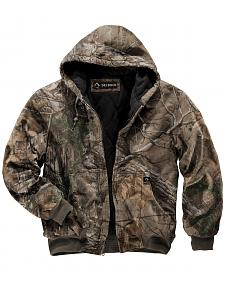 Dri Duck Men's Cheyenne Realtree Xtra Camo Hooded Work Jacket